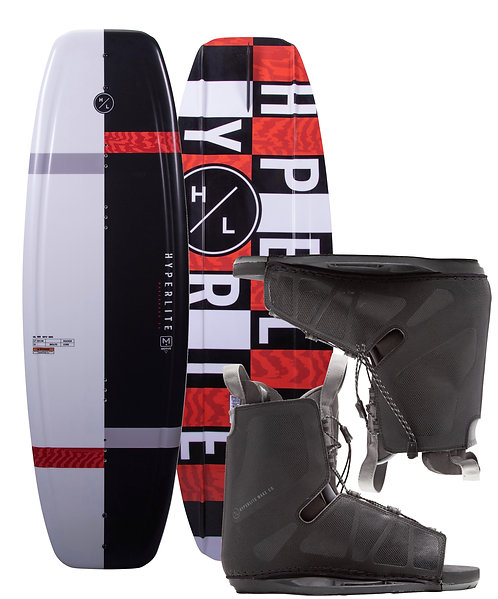 2021 Hyperlite Motive Wakeboard + Frequency Boots