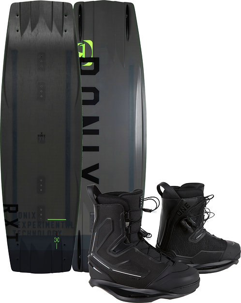 2021 Ronix RXT Wakeboard + One Boots
