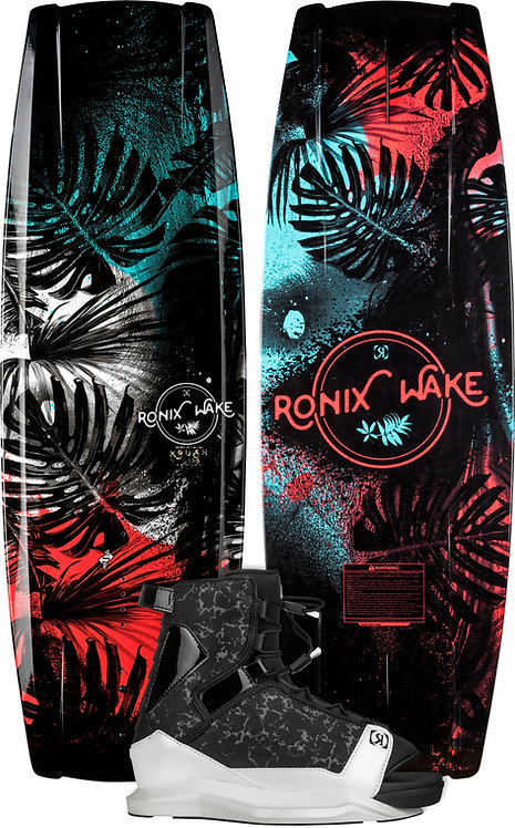 2022 Ronix Krush Wakeboard + Halo Boots Package