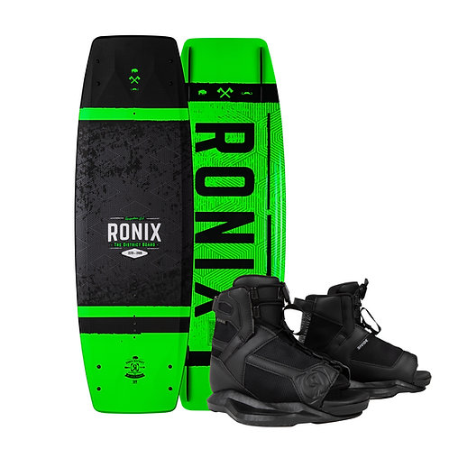 2021 Ronix Boy's District Wakeboard + Divide Boots