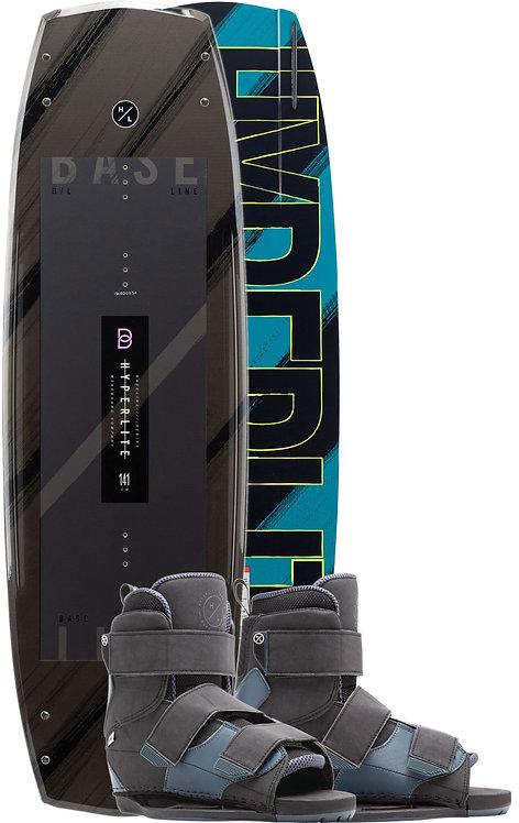 2020 Hyperlite Baseline Wakeboard + Formula Boots Package