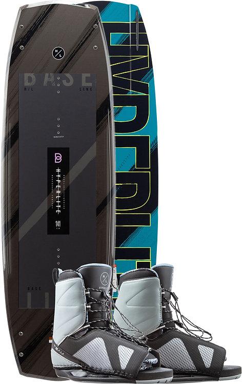 2020 Hyperlite Baseline Wakeboard + Team OT Boots Package
