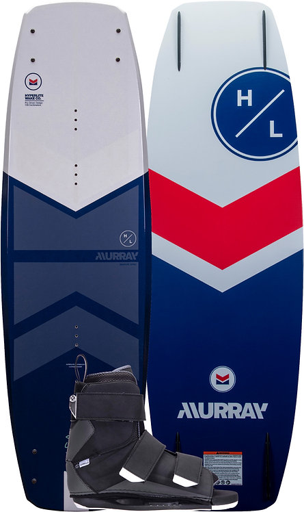 2022 Hyperlite Murray Wakeboard + Formula Boots Package