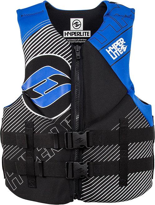 2019 Hyperlite Men's Indy Vest Blue CGA