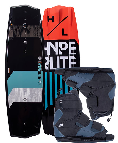 2021 Hyperlite State 2.0 Wakeboard + Formula Boots