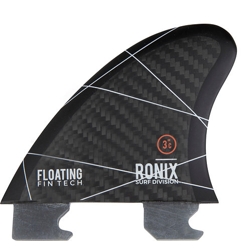 """2022 Ronix  3"""" Floating Surf Fin - Tool-Less Fin-S"""