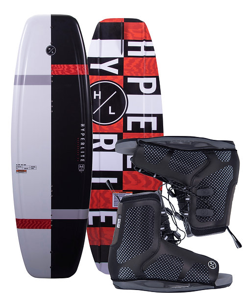 2021 Hyperlite Motive Jr.  Wakeboard + Remix Boots
