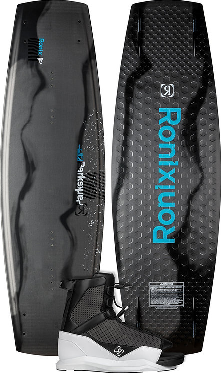 2022 Ronix Parks Wakeboard + District Boots Package