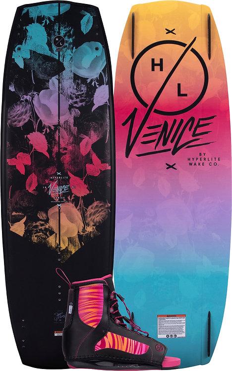 2022 Hyperlite Venice Wakeboard + Jinx Boots Package