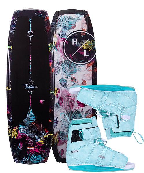 2021 Hyperlite Venice Wakeboard + Viva Boots
