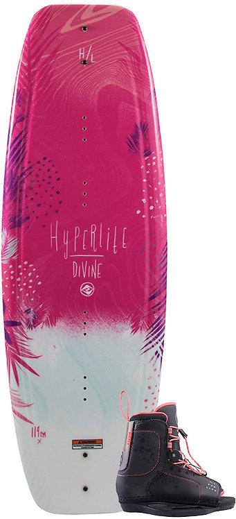2019 Hyperlite Divine Jr. Wakeboard + Jinx Boots Package