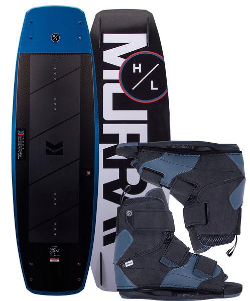 2021 Hyperlite Murray Wakeboard + Formula Boots