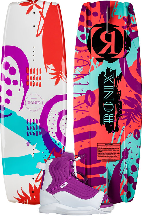 2022 Ronix August Wakeboard+ August Boots