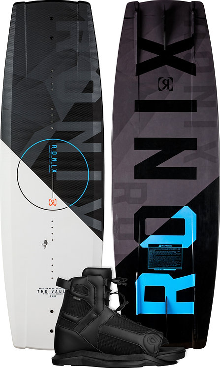 2022 Ronix Vault Wakeboard + Divide Boots Package