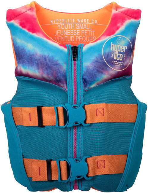 2022 Hyperlite Girl's Youth Indy CGA Vest 50-75 lbs.