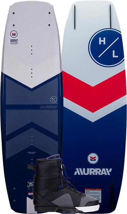 2022 Hyperlite Murray Wakeboard + Team X Boots Package