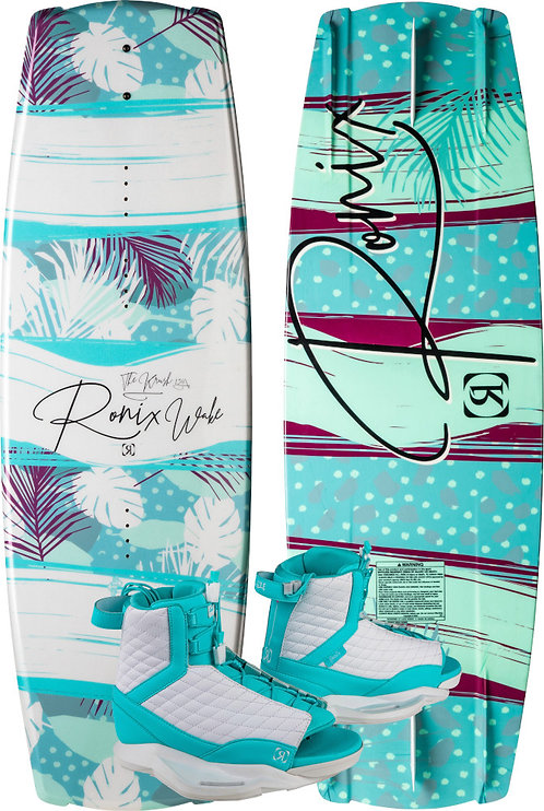 2020 Ronix Krush Board+ Luxe Boots Package