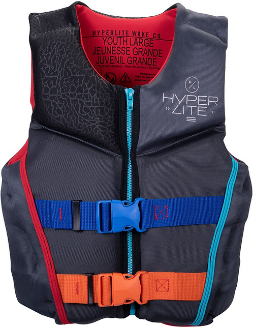 2022 Hyperlite Boy's Youth Indy CGA Vest 65-90 lbs.