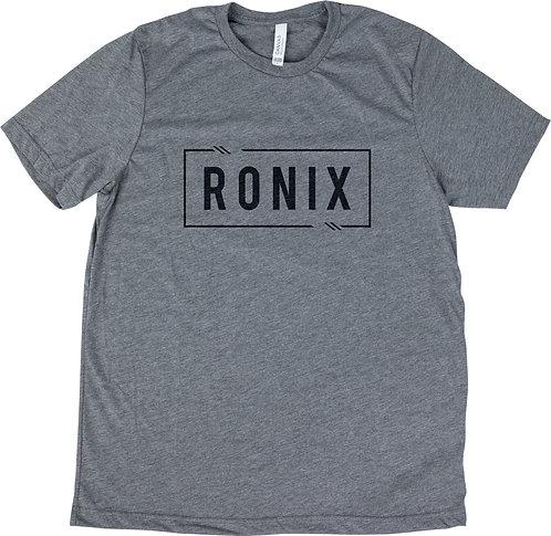 2022 Ronix Mega Corp T-Shirt Heather Grey