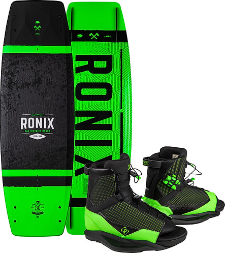 2021 Ronix Boy's District Wakeboard + District Boots