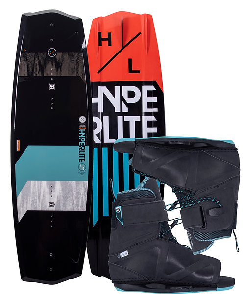 2021 Hyperlite State 2.0 Wakeboard + Session Boots