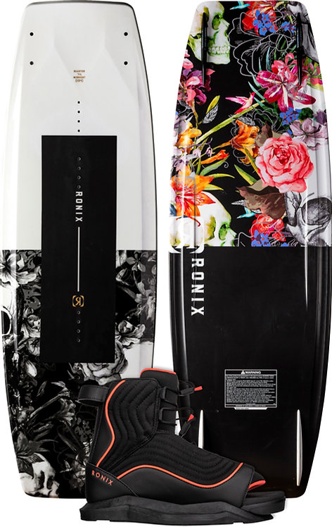 2022 Ronix Quarter 'Til Midnight Wakeboard + Luxe Boot Package