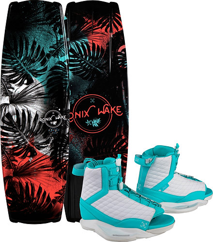 2021 Ronix Krush Wakeboard+ Luxe Boots