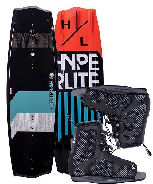 2021 Hyperlite State 2.0 Jr.  Wakeboard + Remix Boots