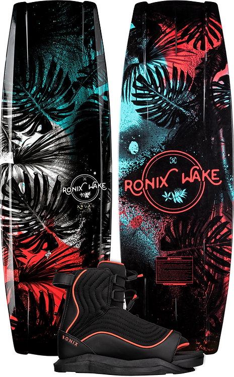 2022 Ronix Krush Wakeboard + Luxe Boots Package