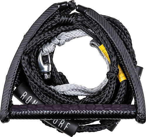 2021 Ronix Spinner Carbon Synth Surf Rope 30 Ft.