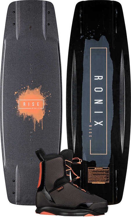 2022 Ronix Rise Wakeboard + Rise Boots Package