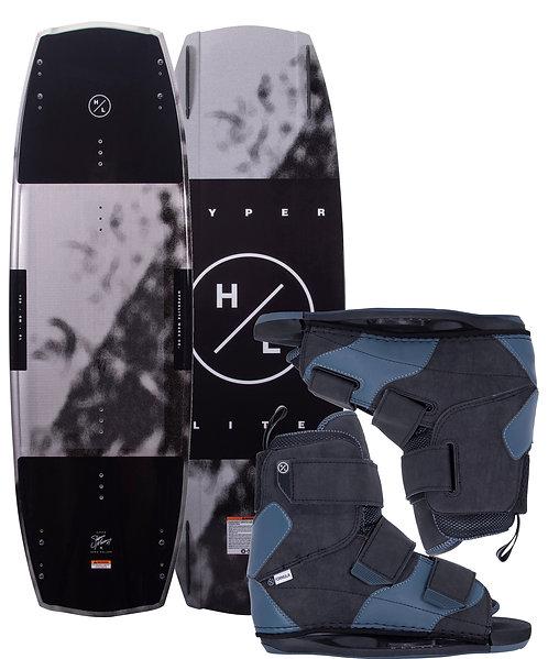 2021 Hyperlite Baseline Wakeboard + Formula Boots