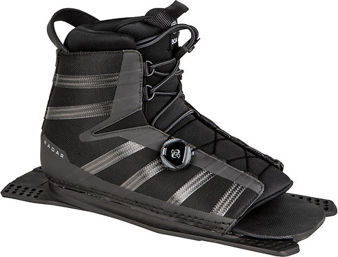 2020 Radar Vector BOA Boot Rear Feather Frame Carbon / Black