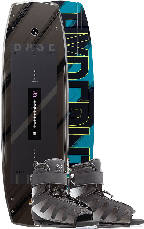 2020 Hyperlite Baseline Wakeboard + Session Boots Package