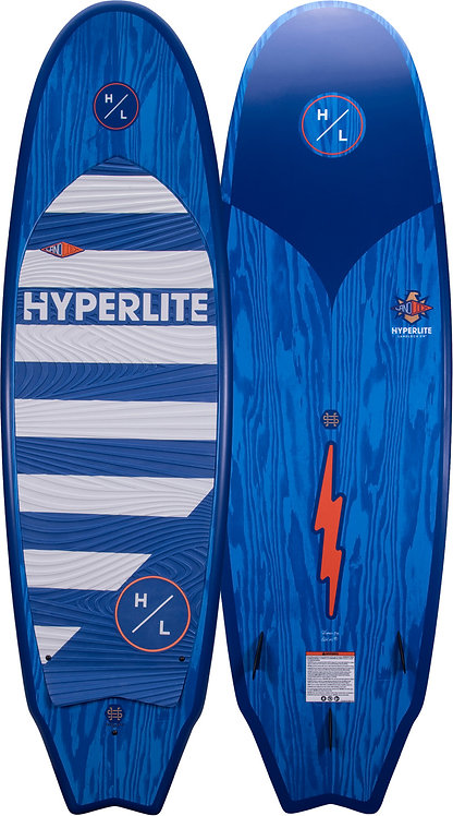 2022  Hyperlite Landlock Wakesurf Board