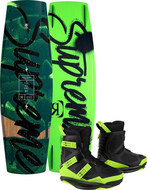 2021 Ronix Supreme Wakeboard + Supreme Boots