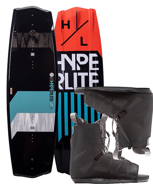 2021 Hyperlite State 2.0 Wakeboard + Frequency Boots