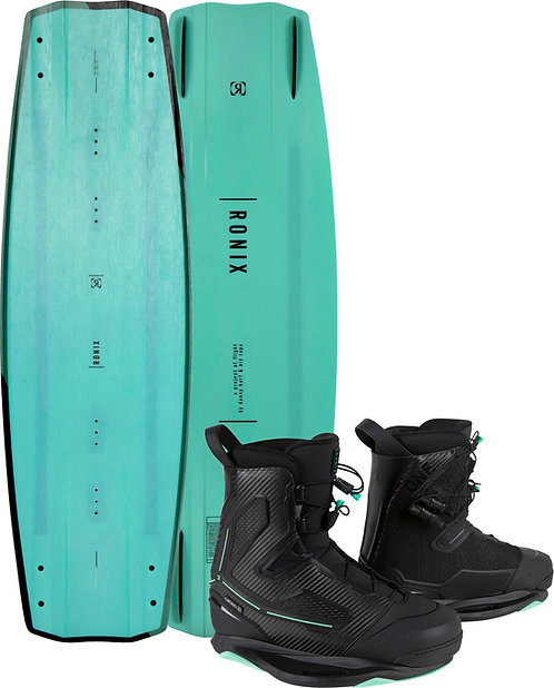2021 Ronix One Blackout Technology Wakeboard + One Carbitex Boots