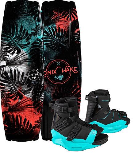 2021 Ronix Krush Wakeboard+ Halo Boots
