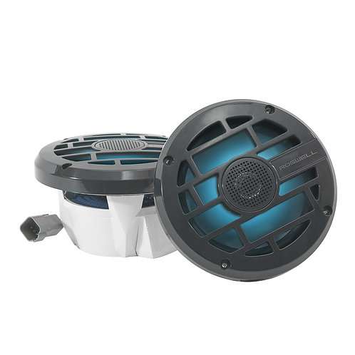 "Roswell Marine R 6.5"" In Boat Speakers Anthracite"