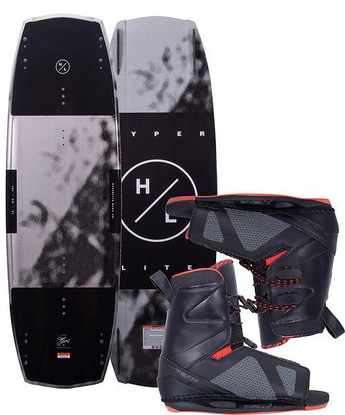 2021 Hyperlite Baseline Wakeboard + Team OT Boots