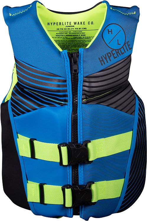 2021 Hyperlite Boy's Junior Indy CGA Vest 75-125 lbs.