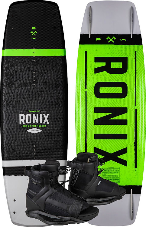 2020 Ronix District Board + Divide Boots Package