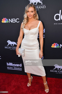 Camille Kostek at the Billboard Music Aw