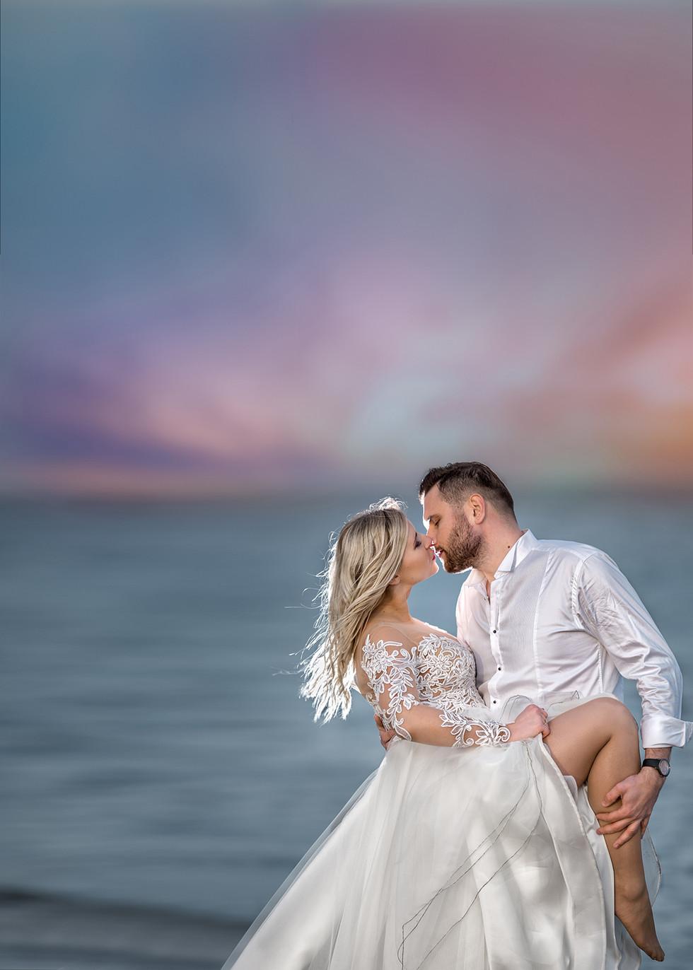 Plener ślubny Justyna i Jacek
