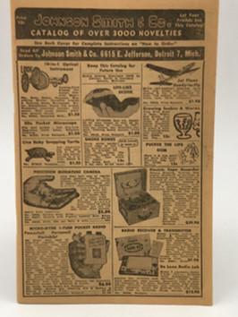 1956 Novelty Catalog