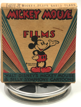 Mickey Plays Santa Clause
