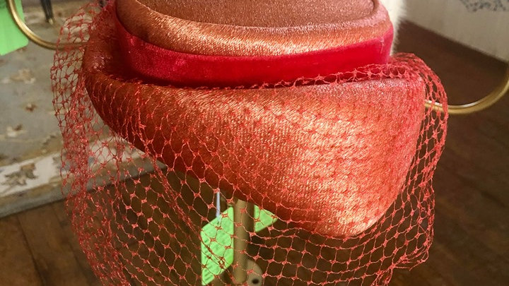 Milbrae Exclusives Union Made Hat with netting
