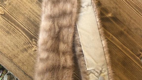1960s Clyde Burtrum Fur Scarf