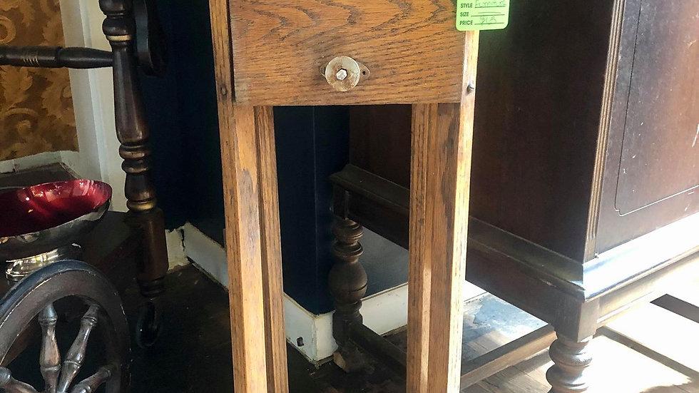 Early 1900s Smoke Storage Table